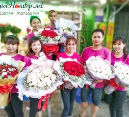 Cả Team Thế Giới Hoa Đẹp Đã Sẵn Sàng Phục Vụ Hoa Xuyên Suốt Lễ Tình Nhân Valentine's Day 14/2
