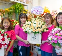 Bật Mí Ngay!!! Banners Câu Chúc Đặc Biệt Của Thế Giới hoa Đẹp Được Tạo Ra Như Thế Nào!
