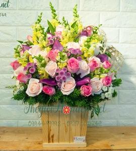 Giỏ Hoa Beautiful Life LG003